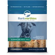 Barkworthies Small Blueberry CBD Dog Treats, 20 count