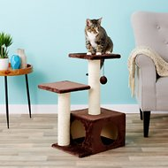 Trixie Valencia 27.75-Inch Cat Tree & Scratching Post, Brown