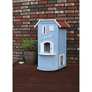 Trixie 3-Story Wooden Outdoor Cat Home, 37-in