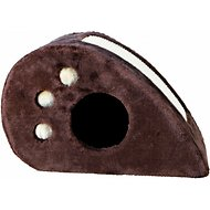 Trixie Topi Cat Condo & Scratcher, Brown
