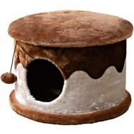 Trixie Cozy Cave 12.5-in Faux Fleece Cat Condo