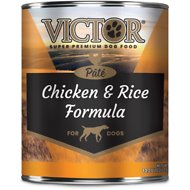 Victor Chicken & Rice Formula Canned Dog Food, 13.2-oz, case of 12