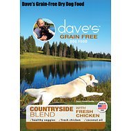 Dave's Pet Food Grain-Free Countryside Blend with Fresh Chicken Dry Dog Food, 28-lb bag