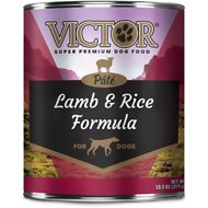 Victor Lamb & Rice Formula Canned Dog Food, 13.2-oz, case of 12