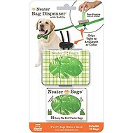 Neater Poop Bag Dispenser, Green Plaid