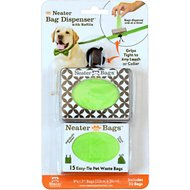 Neater Poop Bag Dispenser, Black & White Diamond