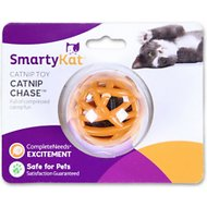 SmartyKat Catnip Chase Ball Cat Toy, 1.8-inch