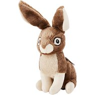 GoDog Wildlife Chew Guard Rabbit Dog Toy, Large