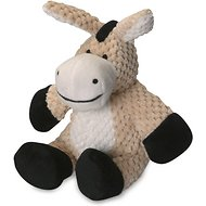 GoDog Checkers Chew Guard Donkey Dog Toy, Small
