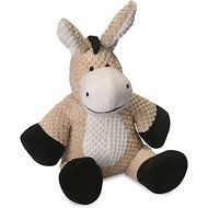 GoDog Checkers Chew Guard Donkey Dog Toy, Large