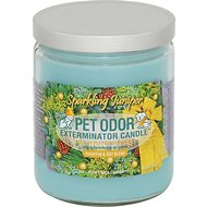 Pet Odor Exterminator Sparkling Juniper Deodorizing Candle, 13-oz jar
