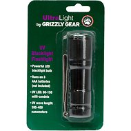 Grizzly Gear Ultra Light UV Blacklight Flashlight Urine Detector