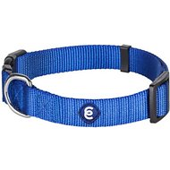 Blueberry Pet Classic Solid Dog Collar, Large, Royal Blue