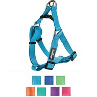 Blueberry Pet Classic Solid Dog Harness, Small/Medium, Turquoise