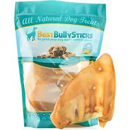 Best Bully Sticks Jumbo Pig Ears Dog Treats, 5 count