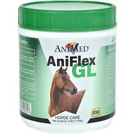 AniMed Natural Aniflex GL Connective Tissue Support Horse Supplement, 2.5-lb tub