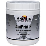 AniMed AniPrin F Aspirin USP Powdered Horse Supplement, 2.5-lb tub