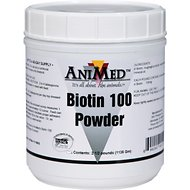 AniMed Biotin 100 Powdered Horse Supplement, 2.5-lb tub