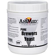 AniMed Pure Brewers Yeast Horse Supplement, 2-lb tub