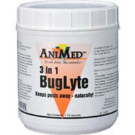 AniMed 3in1 BugLyte Horse Supplement, 1.5-lb tub
