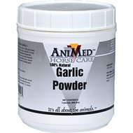 AniMed Natural Garlic Powder Horse Supplement, 2-lb tub