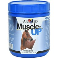 AniMed Muscle-Up Powdered Horse Supplement, 2.5-lb tub