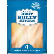 Best Bully Sticks Cow Ears Dog Treats, 15 count