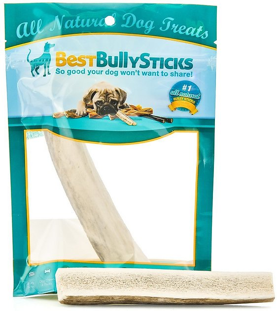 best bully sticks split elk antler dog chew medium. Black Bedroom Furniture Sets. Home Design Ideas