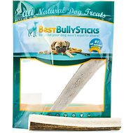 Best Bully Sticks Split Elk Antler Dog Chew, Large