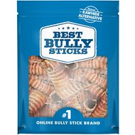 "Best Bully Sticks 3"" Beef Trachea Dog Treats, 50 count"
