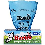 Bark+ Pet Waste Pick-Up Bags, 300 count, Blue