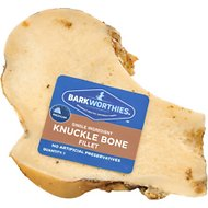 Barkworthies Beef Filet Knuckle Bone Dog Treats, Case of 12
