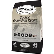 Muenster Natural Grain-Free All Life Stages Dry Dog Food, 25-lb bag