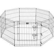 Pet Trex High Panel Wire Exercise Pen with Gate, Small