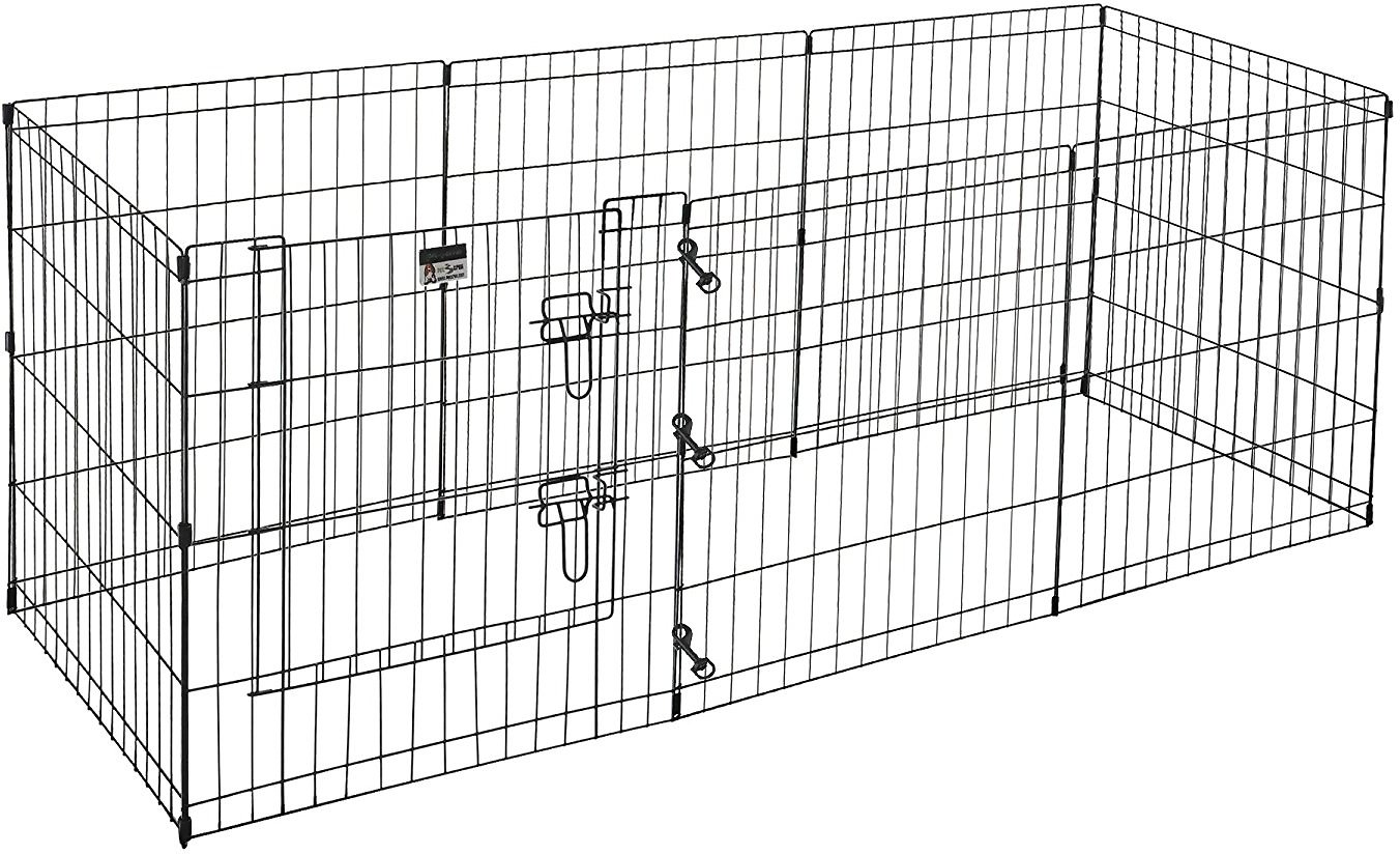 Pet Trex High Panel Wire Exercise Pen With Gate Small