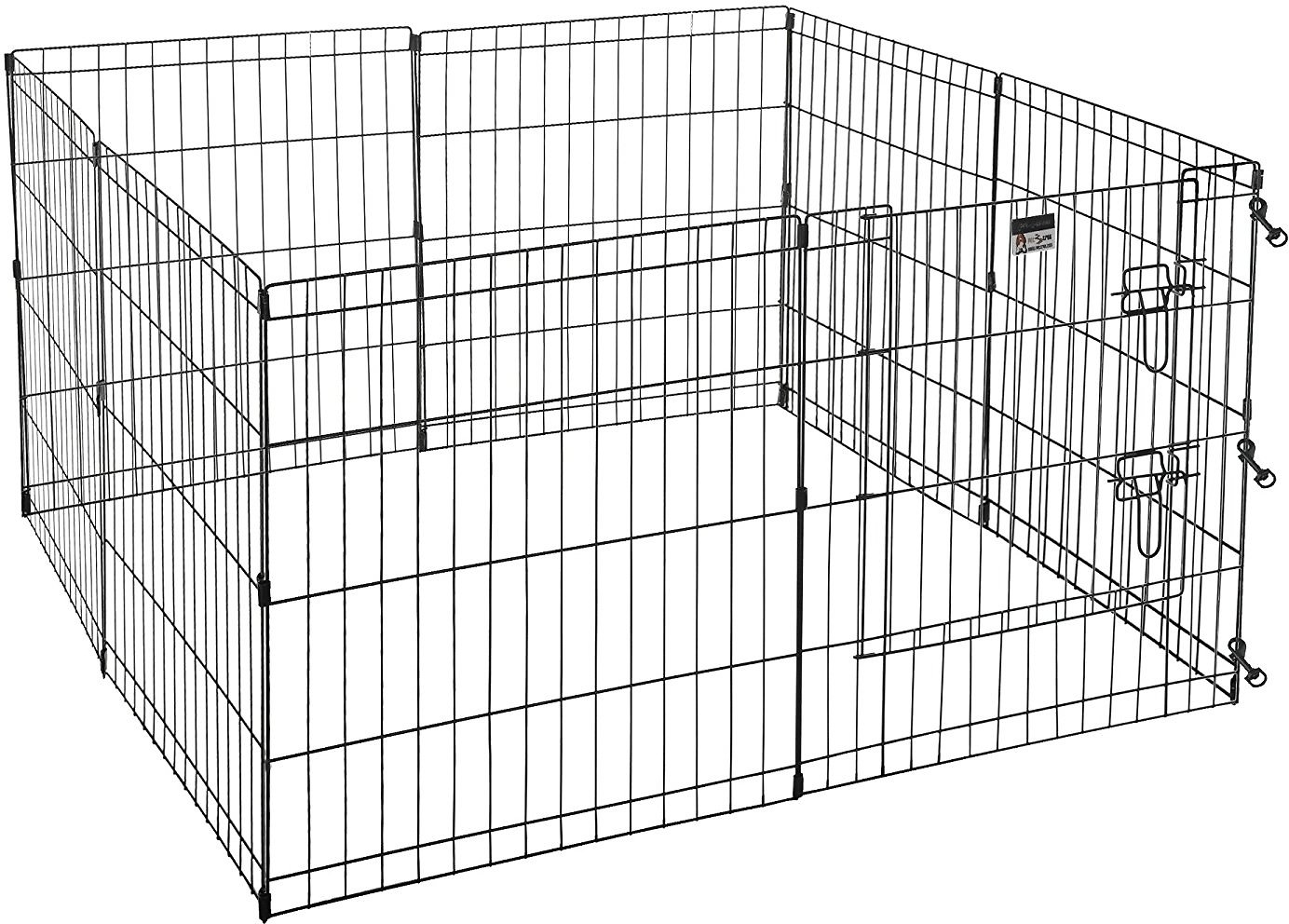 Pet Trex High Panel Wire Exercise Pen with Gate, Small - Chewy.com