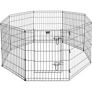 Pet Trex High Panel Wire Exercise Pen with Gate, Medium