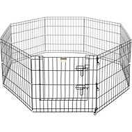 Pet Trex High Panel Wire Playpen with Gate, 24-in