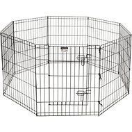 Pet Trex High Panel Wire Playpen with Gate, 30-in