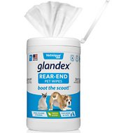 Glandex Anal Gland Hygienic Pet Wipes, 75 count