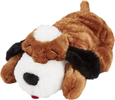 Smart Pet Love Snuggle Puppy Behavioral Aid Dog Toy Brown Chewy Com