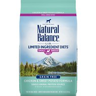Natural Balance L.I.D. Limited Ingredient Diets Chicken & Sweet Potato Formula Small Breed Bites Grain-Free Dry Dog Food, 4.5-lb bag