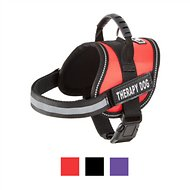 Doggie Stylz Therapy Dog Harness, X-Small, Red