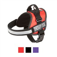 Doggie Stylz Therapy Dog Harness, Medium, Red