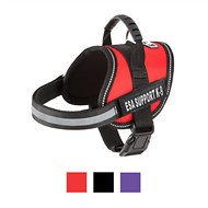 Doggie Stylz ESA Support K-9 Harness, X-Small, Red