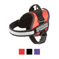 Doggie Stylz Service Dog In Training Harness, Medium, Red