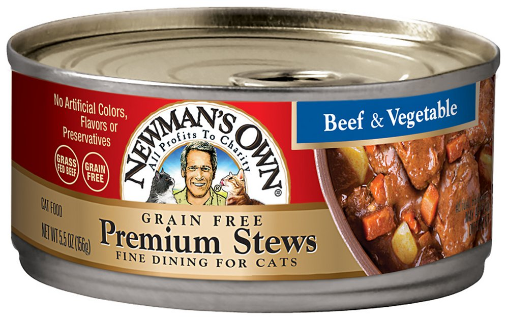Newman S Own Organics Grain Free Beef Canned Dog Food