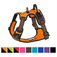 Chai's Choice 3M Reflective Dog Harness, Medium, Orange