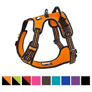 Chai's Choice 3M Reflective Dog Harness, Large, Orange