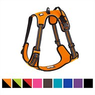 Chai's Choice 3M Reflective Dog Harness, X-Large, Orange